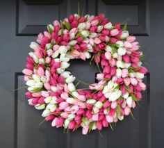 Easter wreath/ spring