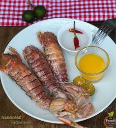 Steamed Tatampal (Shrimp) : thepeachkitchen.com
