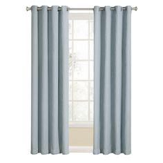 Allen + Roth Evington 84 In Mineral Cotton Back Tab Single Curtain Panel |  KerDavMar | Pinterest | Allen Roth