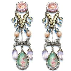 These are ayala bar bloom earrings from the spring 2012 collection. They make one feel fresh as a flower as they are so unique. One cannot go wrong with these gorgeous earrings