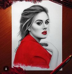 Hello... it's Adele! by @aleexart