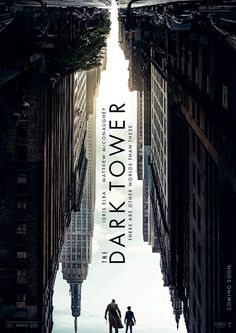 Starring Idris Elba and Matthew McConaughey in the lead, The Dark Tower is directed by Nikolaj Arcel. - Try finding Idris Elba and Matthew McConaughey in this intriguing new poster of The Dark Tower Hd Movies Online, New Movies, Movies To Watch, Good Movies, 2017 Movies, Movies Free, Latest Movies, Imdb Movies, Popular Movies