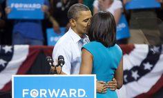 Obamas' romantic moment