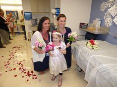 """Pin for Later: Watch a 4-Year-Old Cancer Patient's Favorite Nurse """"Marry"""" Her and Make Her Dreams Come True"""