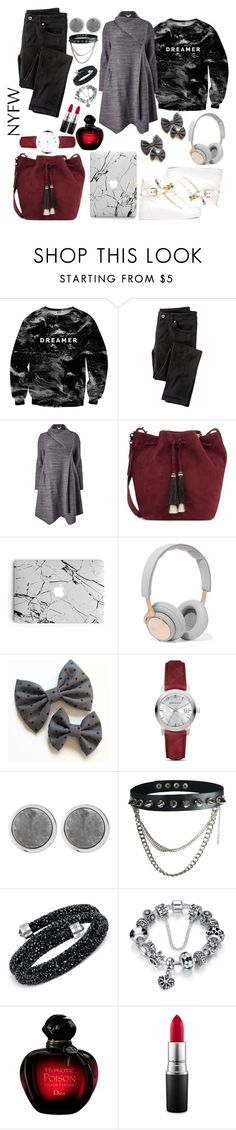 """Untitled #19"" by diva-malena ❤ liked on Polyvore featuring Mr. Gugu & Miss Go, Wrap, Studio 8, Loeffler Randall, B&O Play, Burberry, Dyrberg/Kern, Swarovski and MAC Cosmetics"
