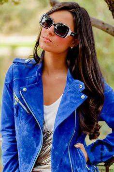 6e7e63445f Crimenes de la Moda  Biker look + Sorteo Showroomprive.es Cazadora Cuero