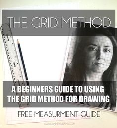 Everything you need to know on how to make, and use, the grid method for  all types of drawing.  My first point, in defence of all those artists who come to me worried...  The grid method is not 'cheating'. The grid method is a way of drawing  accurately that has been adopted and used for gener
