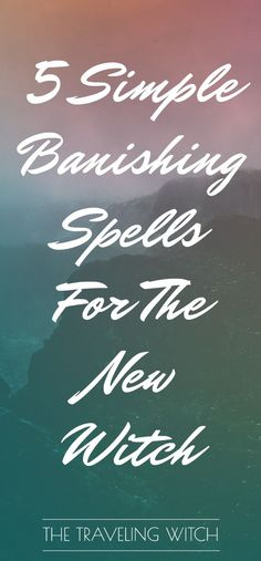 5 Simple Banishing Spells For The New Witch // The Traveling Witch life path calculator life path how to life path number life path relationships life path spiritual Spells For Beginners, Witchcraft For Beginners, Moon Spells, Magic Spells, Easy Spells, Luck Spells, Auras, Reiki, Banishing Spell