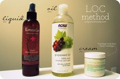 Just Grow Already! | journeying to healthy hair: The L.O.C. Method