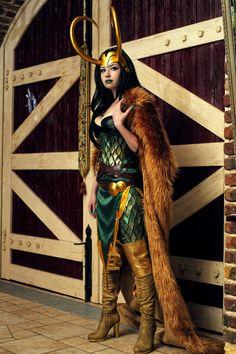 Lady Loki by ~souji-yarou on deviantART