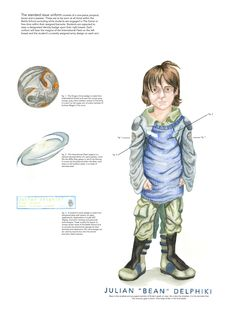 Bean poster - MA Ender's Game Concept Art