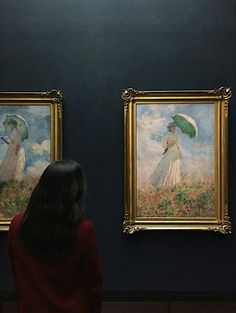not my pictures. Museum Photography, Local Museums, Art Hoe Aesthetic, Night At The Museum, Claude Monet, Aesthetic Pictures, Lovers Art, Art History, Art Museum