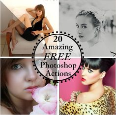 NewlyMynted: 20 favorite free photoshop actions