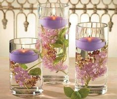 Lilac Blossom Candles