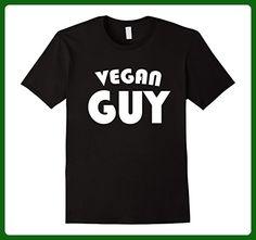 Mens Vegan Guy Funny Cute Gift T Shirt For Animal Lover     Medium Black - Animal shirts (*Amazon Partner-Link)