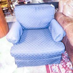 Navy Blue Club Chair - Sku: ZDZ673 - $149