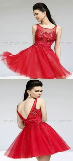 Straps A-line Natural Organze Homecoming Dresses homecoming dress prom dresses prom dresses