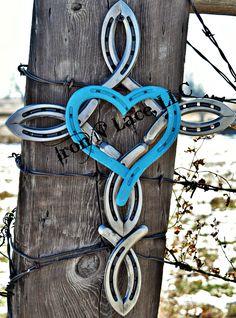 horseshoe cross with heart