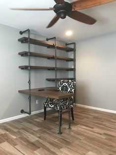 Built In Desk and Shelves . Built In Desk and Shelves . Custom White Built In Shelving and Desk with Cabinets and Home Office Furniture, Built In Computer Desk, Desk Wall Unit, Built In Desk, Furniture, Shelves, Shelving, Home Decor, Desk Shelves
