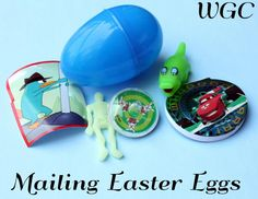 Mailing Easter Eggs without Candy