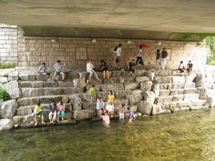 Cool down - It's starting to heat up fast, cool down at the Cheonggye stream! This beautiful stream in the middle of Seoul is one the more calming places to chill out on a hot summer day. Make sure you bring a towel or an extra set of clothes!