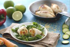 I calamari ripieni di couscous sono un secondo sfizioso, che unisce il calamaro e il sapore esotico del couscous, ma perfetti anche come fingerfood!