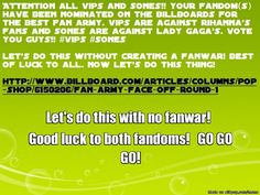 vips and sones fan army