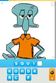 Isnt this awesome! Draw something app.