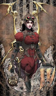 lady demonika by joe benitez - Lady Mechanika Comic by Joe Benitez  <3 <3