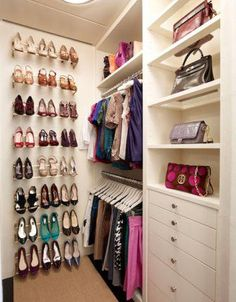 HOW TO ORGANISE YOUR CLOSET - Organiser sa penderie - Planification de penderie - Closet planning