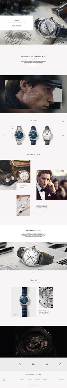 Omega Watches E-Commerce by ToyFight
