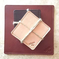 Drink coasters and mouse pads will be arriving in the shop this evening! All colors will be available. Introduction price of $20 for each item. Coasters come in sets of 4. Thanks for the support! #1350Leather #AmericanMade