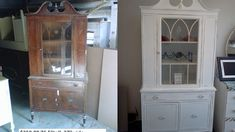 Handpainted Furniture Blog, Shabby Chic Vintage Painted Furniture: Before and After Vintage Painted Shabby Chic furniture dressers