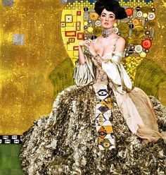 klimt. in vogue.