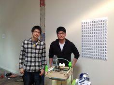 Folks at Tinkerine Studio #3DPrinting :-)