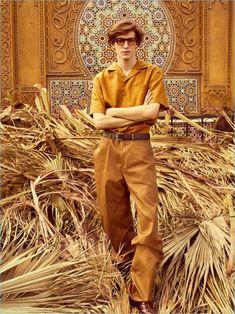Xavier Buestel Travels to Marrakech for Spanish GQ Gq Fashion, Fashion Poses, Fashion Lookbook, Fashion Photo, Editorial Fashion, Fashion Trends, Men Editorial, Spanish Men, The Fashionisto