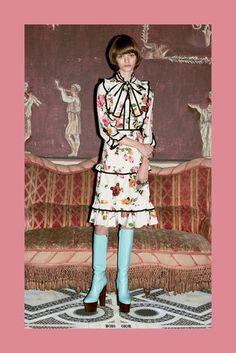 2016プレフォールコレクション - グッチ(GUCCI)ランウェイ コレクション(ファッションショー) VOGUE JAPAN