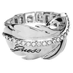 anillo guess logo - descatalogado ubr21307s - 36,00€ http://www.andorraqshop.es/joyeria/guess-logo-descatalogado-ubr21307s.html