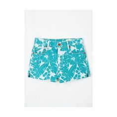 80s Short Length High Waist Swap Meet You There Shorts by ModCloth (17,665 KRW) ❤ liked on Polyvore