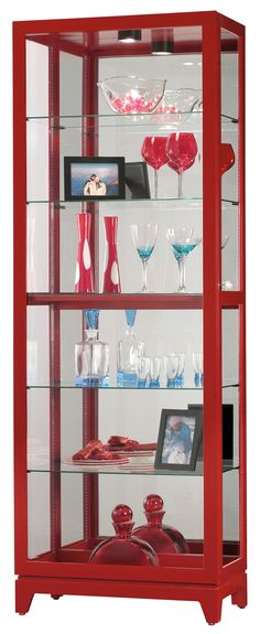 Luke II Curio Cabinet | Howard Miller | Home Gallery Stores