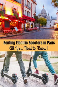 Renting an electric scooter in Paris is so much fun! See all the beautiful sights of Paris while having fun too. Check out this complete guide for all you need to know about e-scooters in Paris! #paris #electricscooters #escooter #whattodoin #Spring