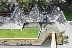 Aspect Studios and CHROFI have created a pedestrian-scale linear park in the space left over from a disused railway line in Sydney.