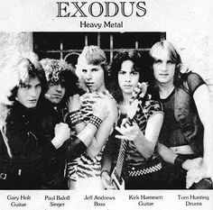"""2,010 Me gusta, 41 comentarios - Rock and Metal Stuff (@david.wah) en Instagram: """"EXODUS, EARLY DAYS, WITH KIRK WAHMMETT, do you think things would be the same with Kirk being in…"""""""