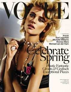 Milou van Groesen by Alique for Vogue Netherlands April 2013
