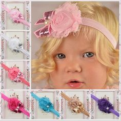 Best Quality New Cute Baby Girls Bow Flower Headbands Mix Children Kids Girls Shiny Bowknot Headbands Hair Accessories Hair Ornaments For Babies Kha160 At Cheap Price, Online Children's Hair Accessories | Dhgate.Com