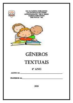Apostila gêneros textuais  4º ano