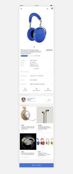 Showcase and discover creative work on the world's leading online platform for creative industries. Ebay Mobile App, Mobile Ui, Web Design, Store Design, Delivery App, Ui Web, Mobile App Design, User Interface Design, Material Design