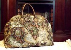 Mary Poppins Style Steampunk Carpet Bag Old World by BitsandPurses