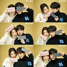 Jinyoung B1A4  and Chaeyeon DIA