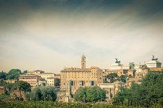 Check out Ancient city view of rome by ChristianThür Photography on Creative Market Architecture Photo, Paris Skyline, Rome, Louvre, Photos, Pictures, City, Building, Check